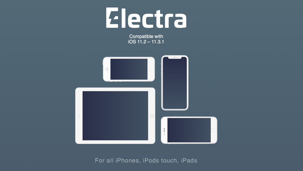 Electra Jailbreak iOS 11.3.1 Downloads