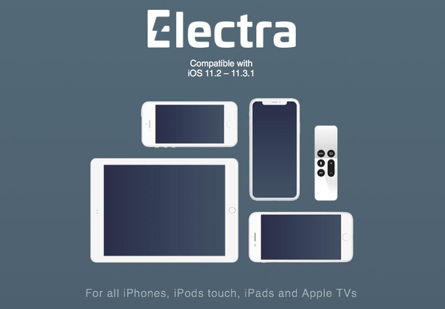 Jailbreak Electra iOS 11.3.1