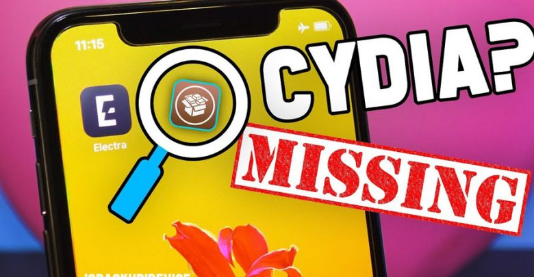 Missing Cydia Jailbreak iOS 11.3.1