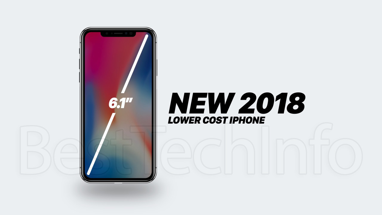 New iPhone 2018 Lower-Cost