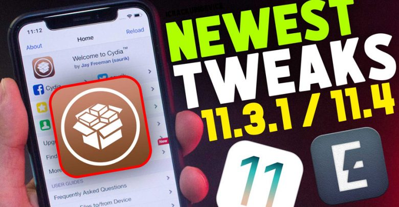 Newest Top Cydia Tweaks iOS 11.3.1