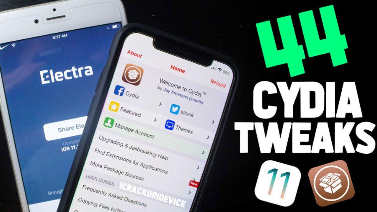 Top 43 BEST Jailbreak iOS 11 3 1 Cydia Tweaks for Electra
