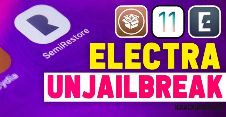 UnJailbreak Electra iOS 11.4