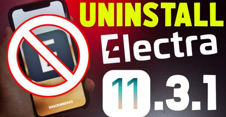 UnJailbreak iOS 11.3.1