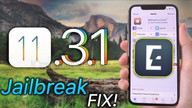 jailbreak ios 11.3.1 fix