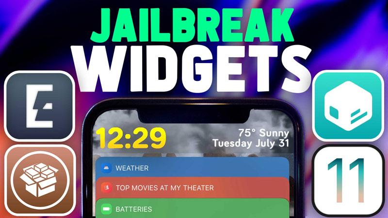 PERFECT iOS 11 3 1 Jailbreak Tweaks: Widgets! iOS 11 4