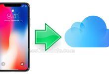 Backup iCloud Downgrade