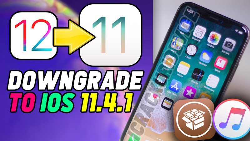downgrade ios 11 4