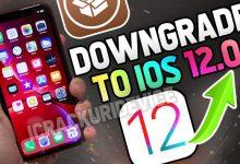 Downgrade iOS 12.1 to iOS 12.0.1