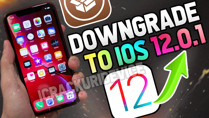 Downgrade iOS 12.1 to iOS 12.0.1