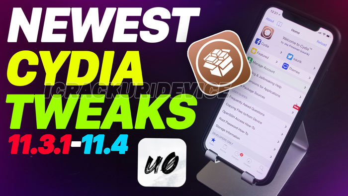 Top Tweaks iOS 11.3.1
