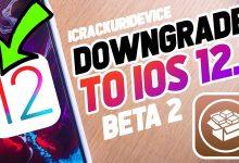 Downgrade iOS 12.1.2