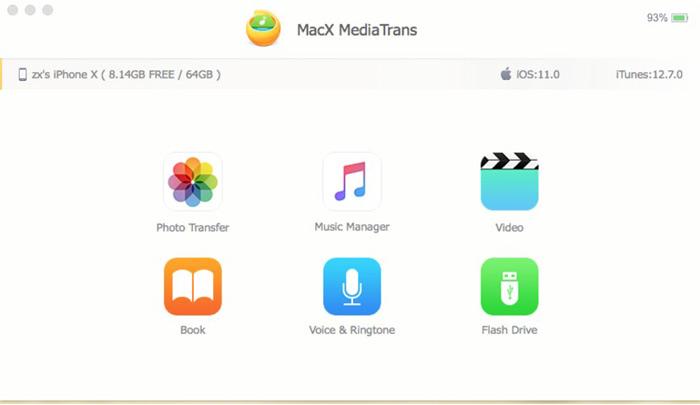 MediaTrans Demo iOS 12