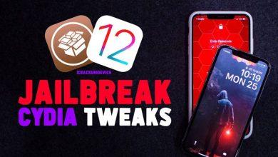 Top Jailbreak iOS 12 Tweaks