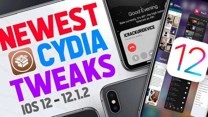 NEW Cydia Tweaks iOS 12 Jailbreak