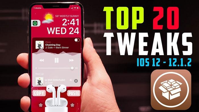 top 20 cydia tweaks ios 12