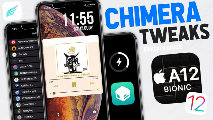 Top 50 FREE Chimera Jailbreak Tweaks for A12 and iOS 12