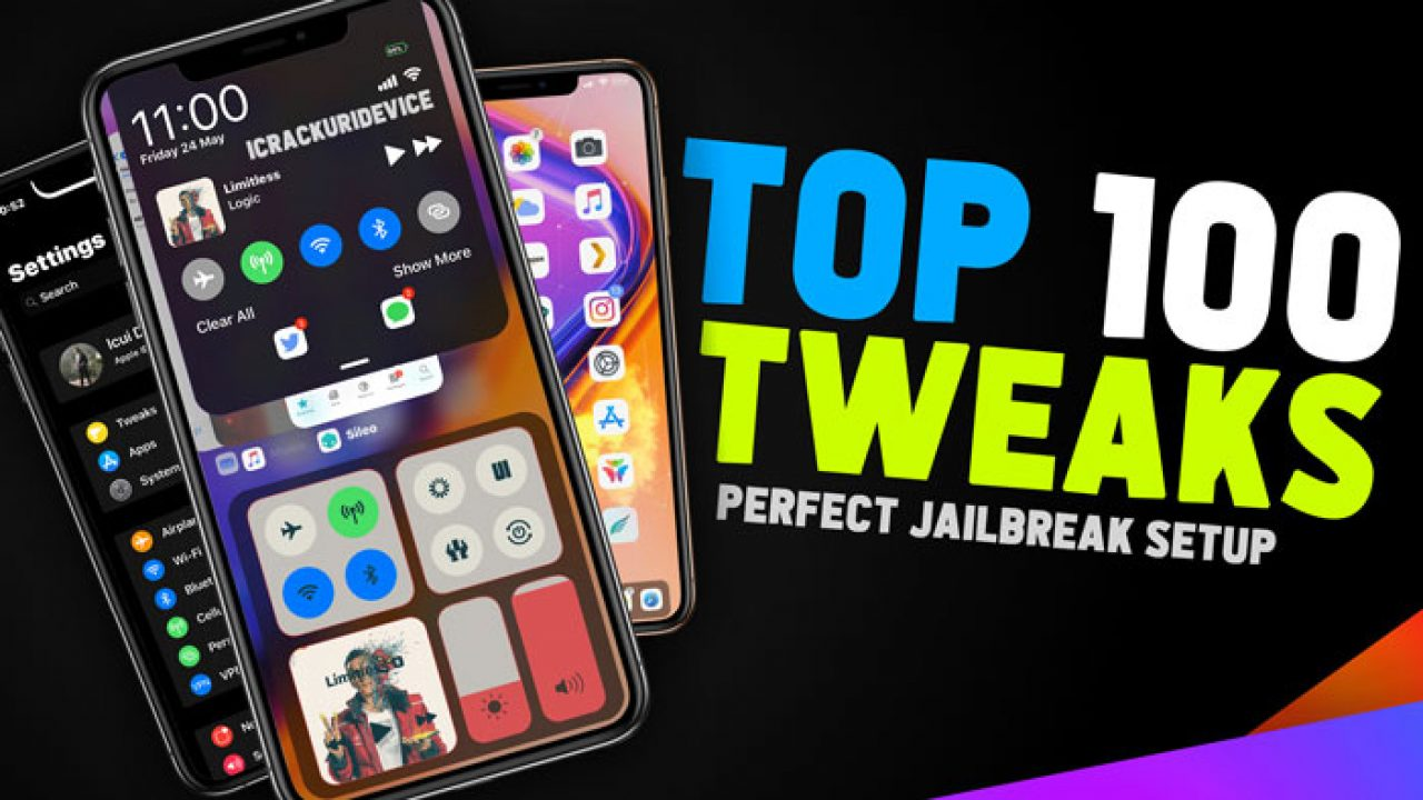 Top 100+ Jailbreak Tweaks for iOS 12 and 12 1 2 (Cydia / Sileo)