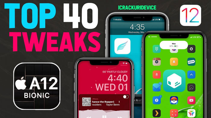 top tweaks ios 12