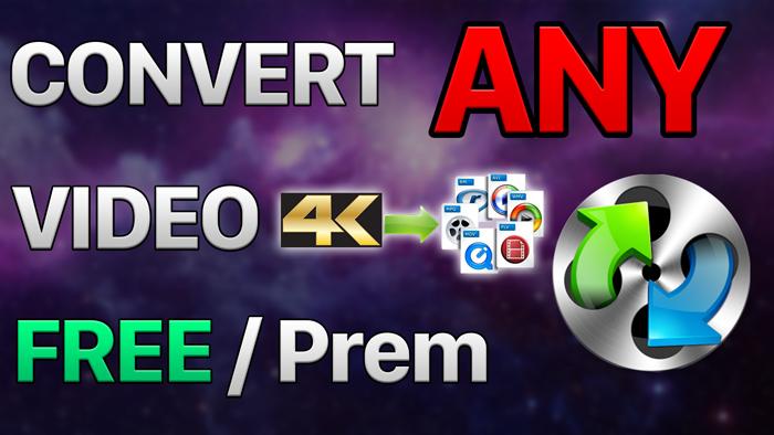 Convert 4k Videos