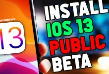 Install iOS 13 Public Beta