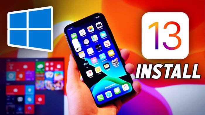 Install iOS 13 on Windows
