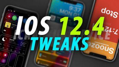 jailbreak ios 12.4 tweaks