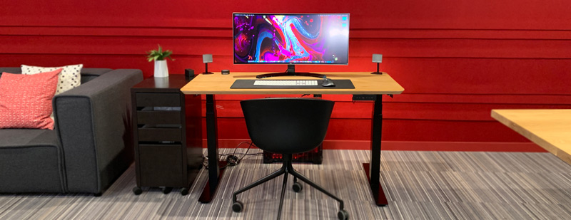 standing desk sturdy
